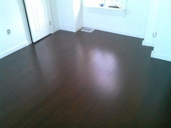 After Install of Laminate Flooring