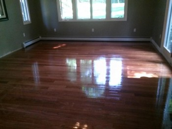Hardwood Floor Refinishing by ScreenCoat Painting & Flooring LLC